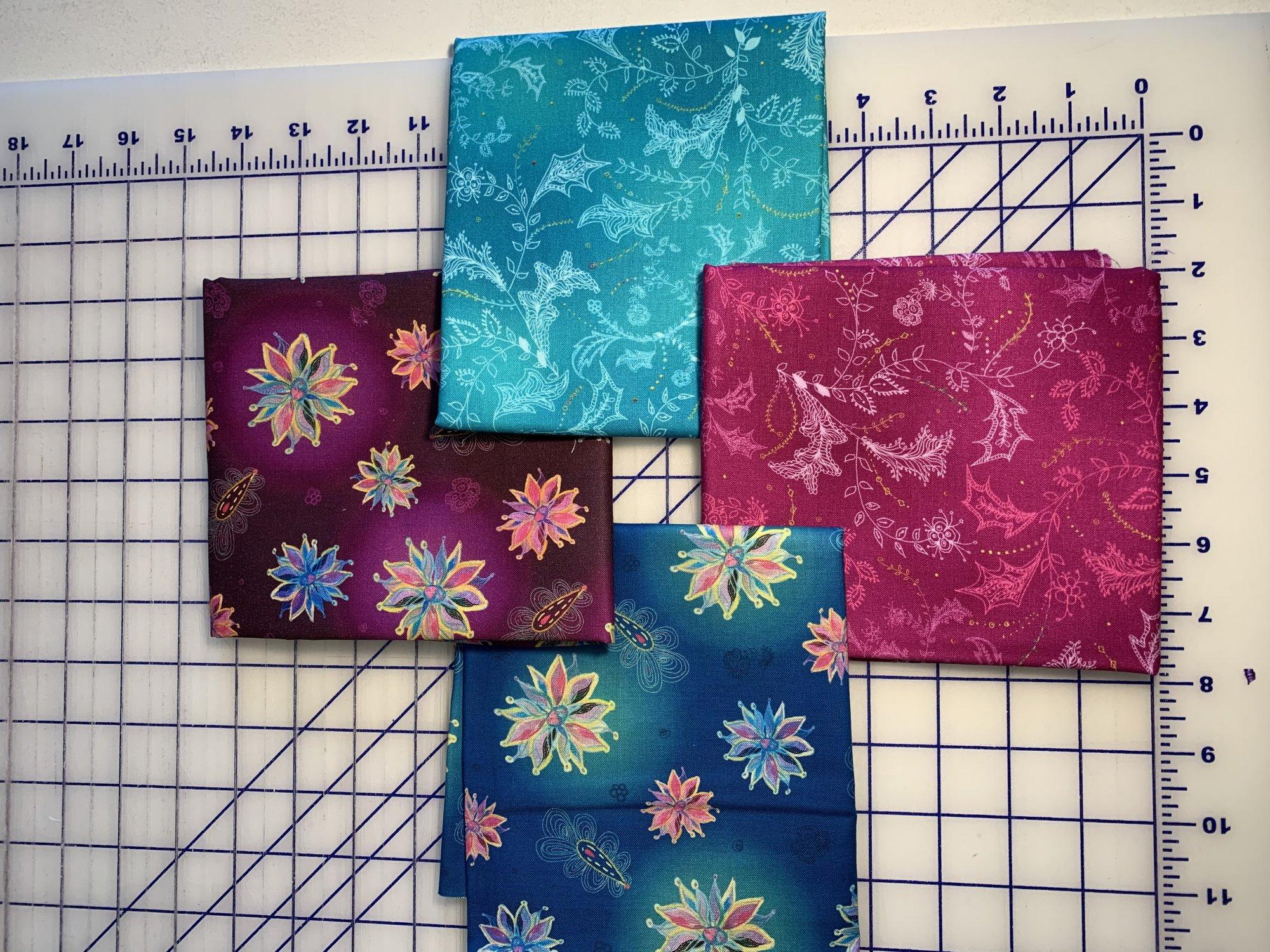 Enchanted 1/2 YD Bundle 2 yards total fabric
