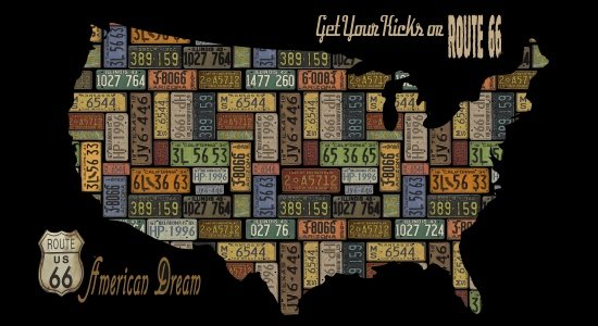 American Dream Map