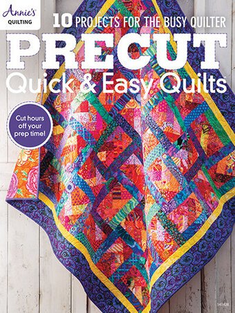 Annie's Quilting  10 Projects for the busy quilter. Precut - Quick and Easy Quilts