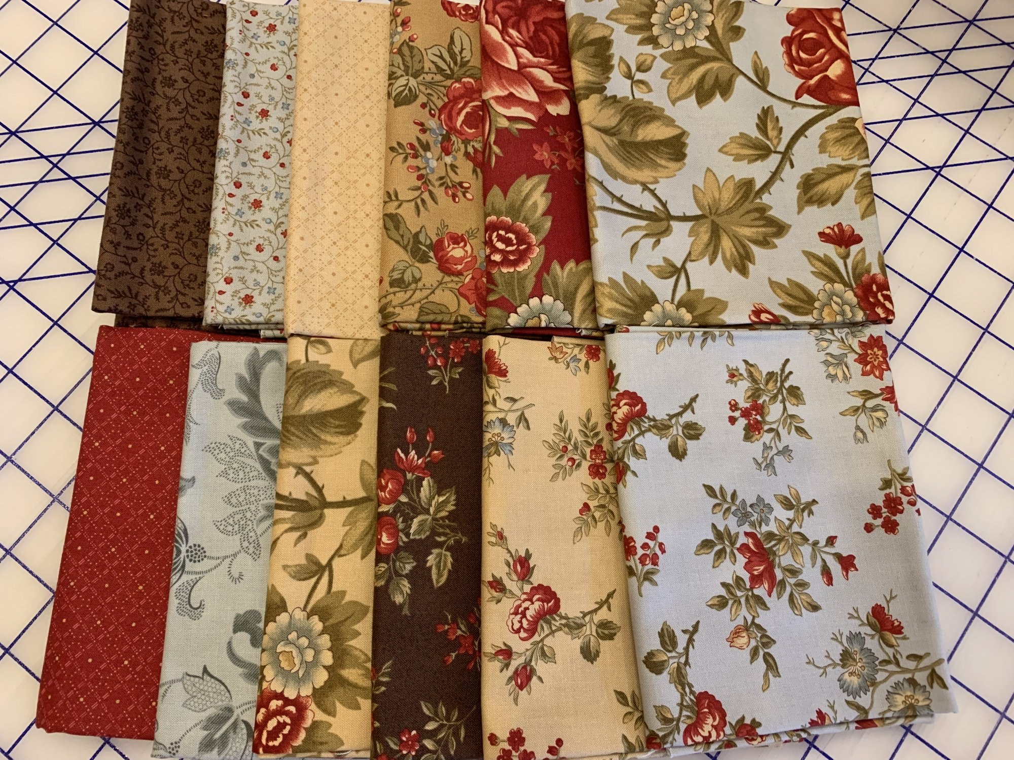 Rosewood Fat Quarter Bundle 12FQB