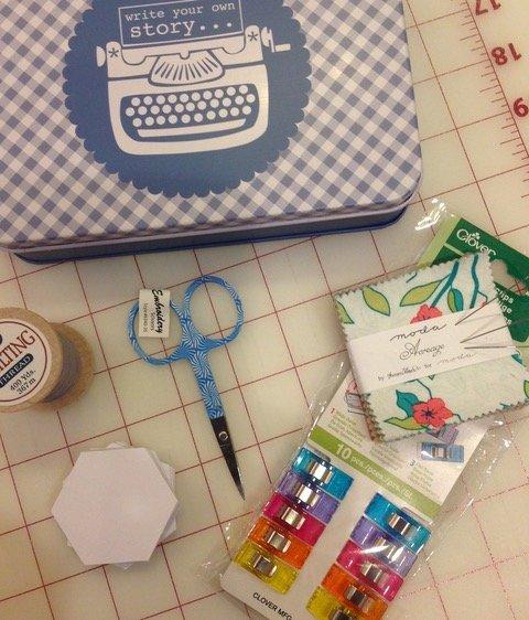 English Paper Piecing Starter Kit