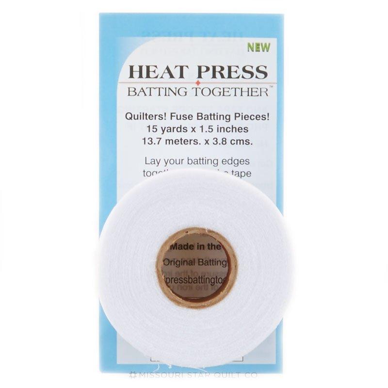 Heat Press Batting 1.5 x 15Yds