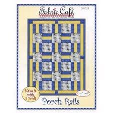Fabric Cafe Porch Rails