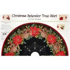 Christmas Splendor Tree Skirt