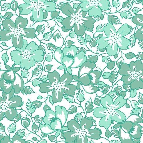 Vintage 30's Med PK Floral JRD