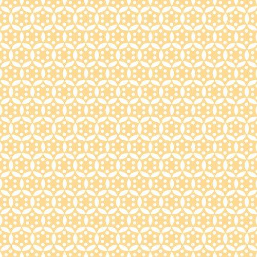Vintage 30's Starburst Yellow