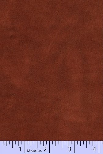 Marcus Fabrics - Hand Dyed Sueded Flannel - Cinnamon