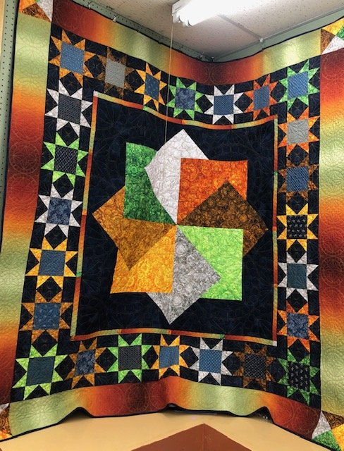 Amish Star Quilt Kit