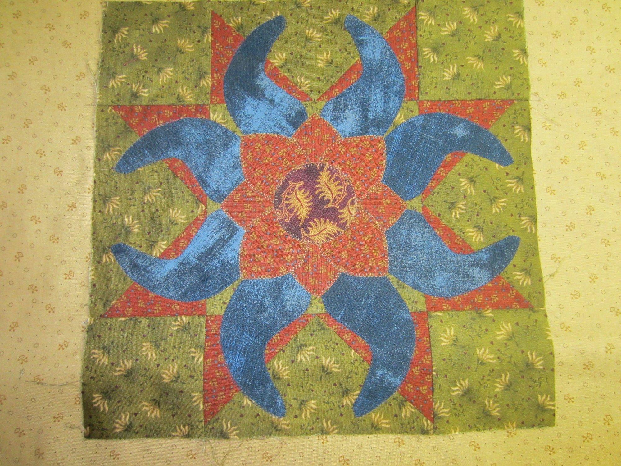 Fantasy Sunflower Block Kit