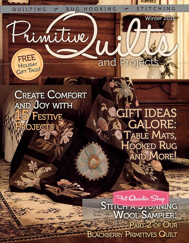 Primative Quilts and Projects Winter 2016