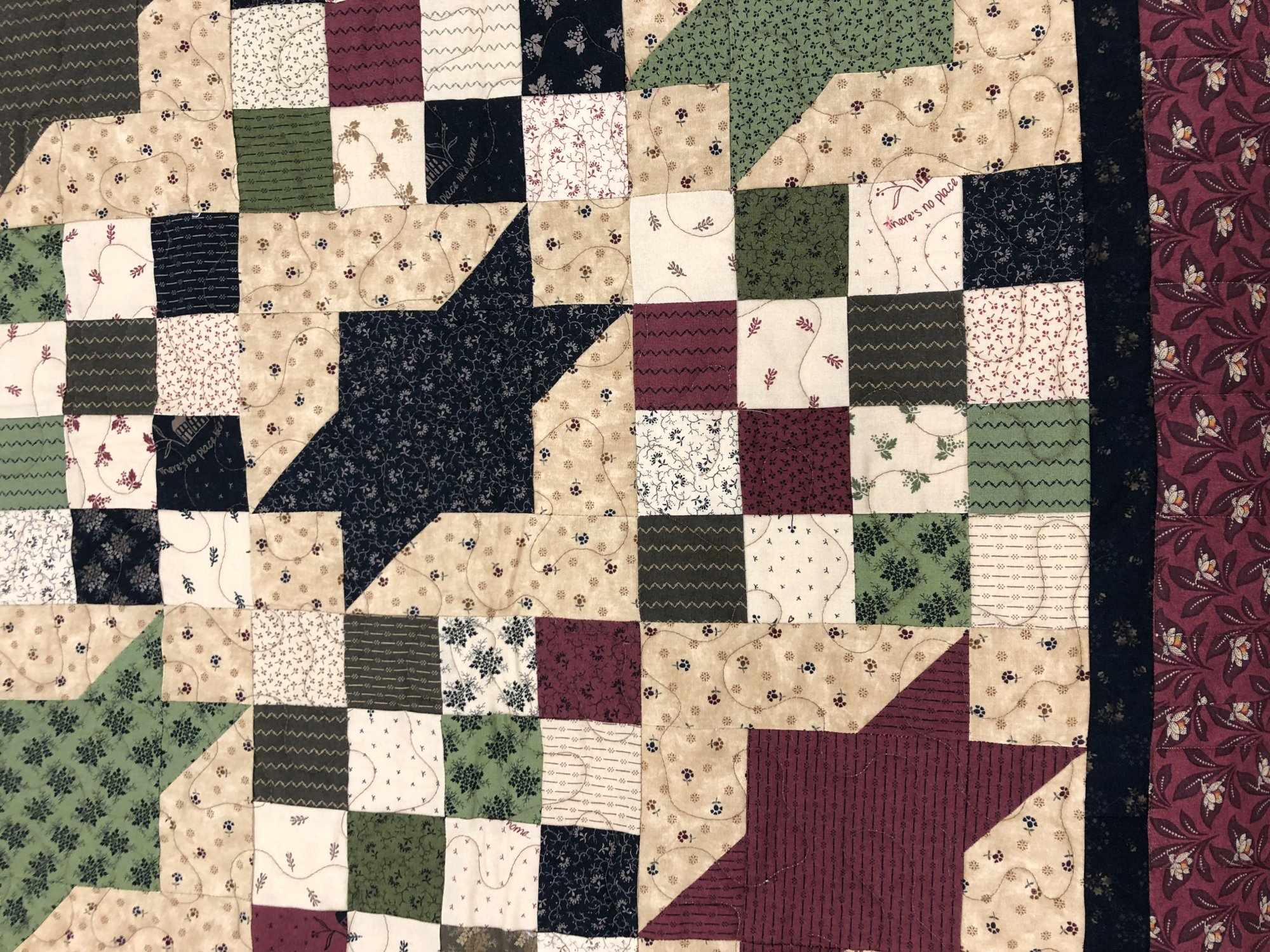 Quilted Samples