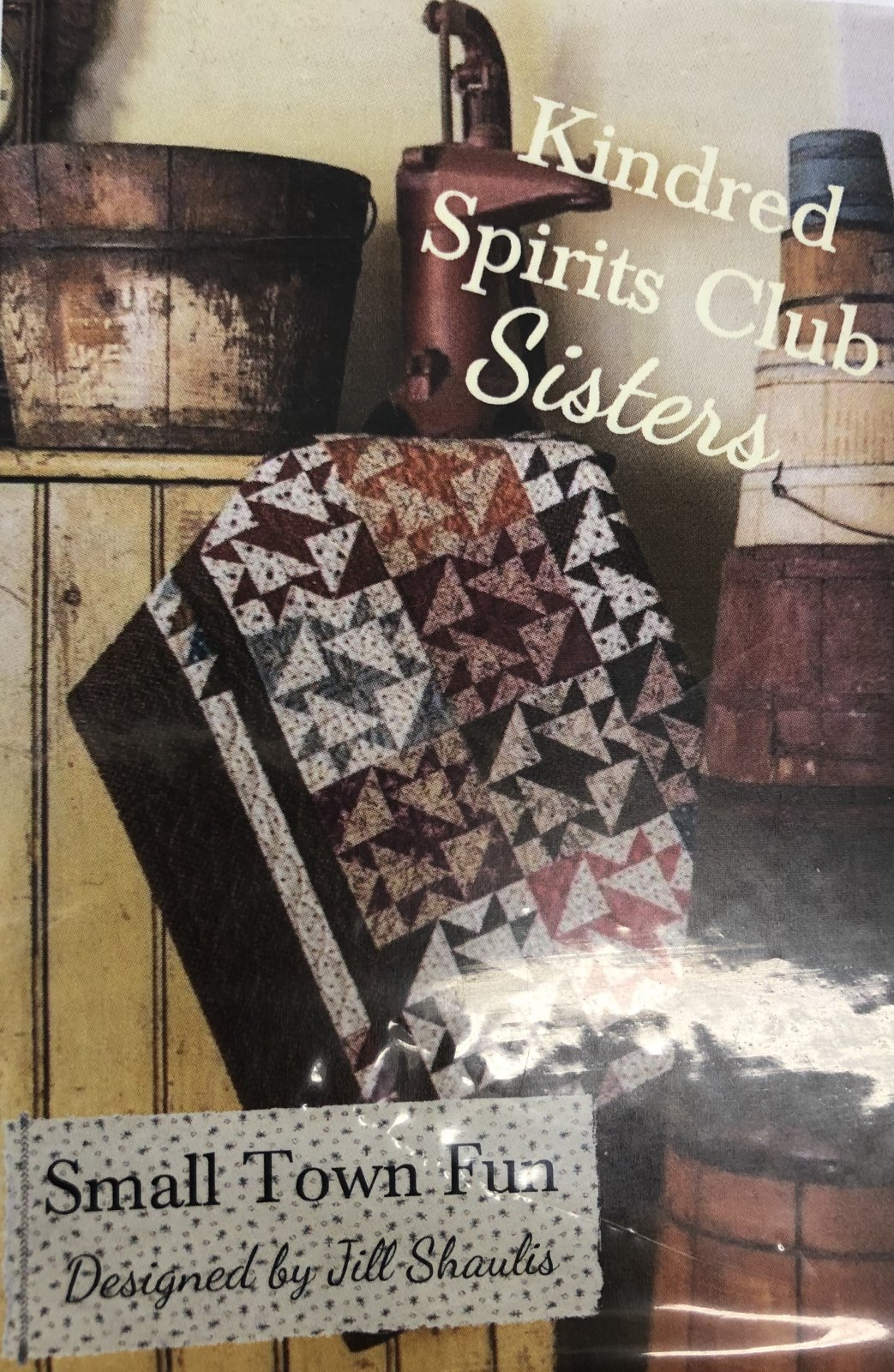 Kindred Spirits Sisters Kit Small Town Fun Table top