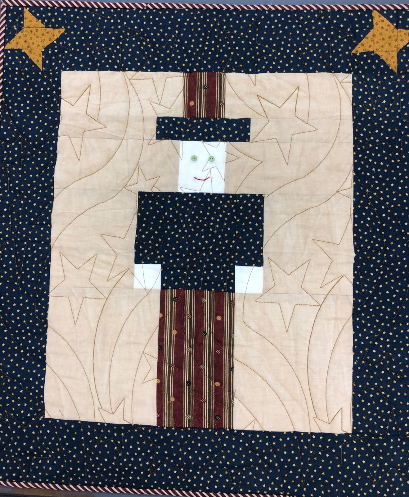 Uncle Sam  Wall Hanging Kit  20x 22