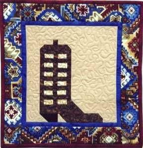 EA Cowboy Boot Pattern