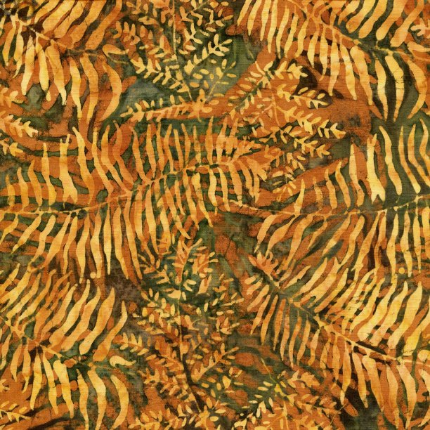 Fern/Leaf - Fern Batik