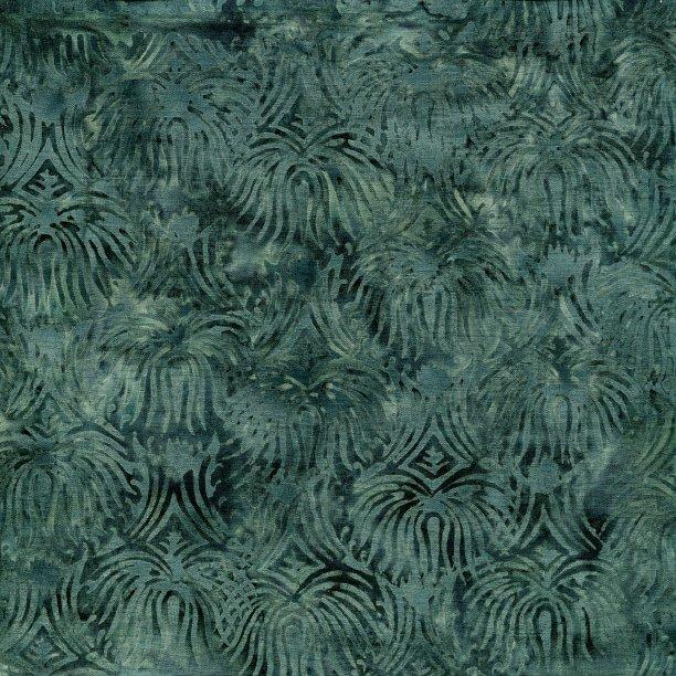 Fountain - Teal Batik
