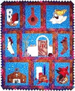 Chili Pepper Christmas Pattern