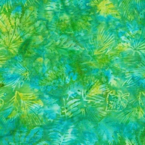 IB Leaves - Cool Waters Batik