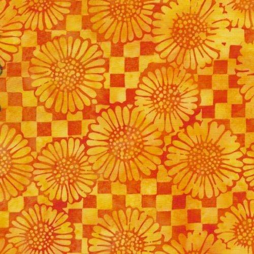 IB Check Sunflower - TaxiCab Batik