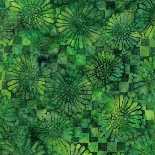 IB Check Sunflower - Fairway Batik