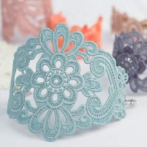 OESD Freestanding Lace Bracelets & Cuffs CD