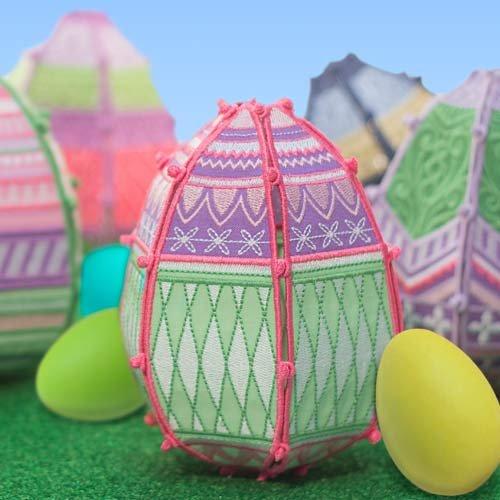 OESD Freestanding Easter Eggs CD