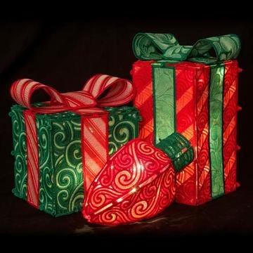 OESD Freestanding Holiday Boxes & Bulbs CD
