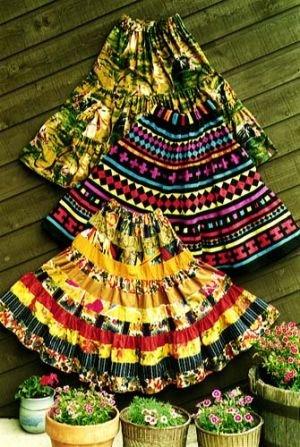 Santa Fe Skirt Pattern