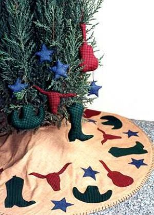 Cowboy Country Tree Skirt
