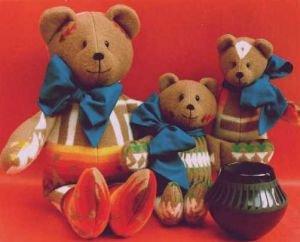 Santa Fe Bears Pattern