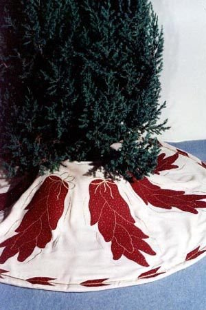 Some Like It Hot Tree Skirt