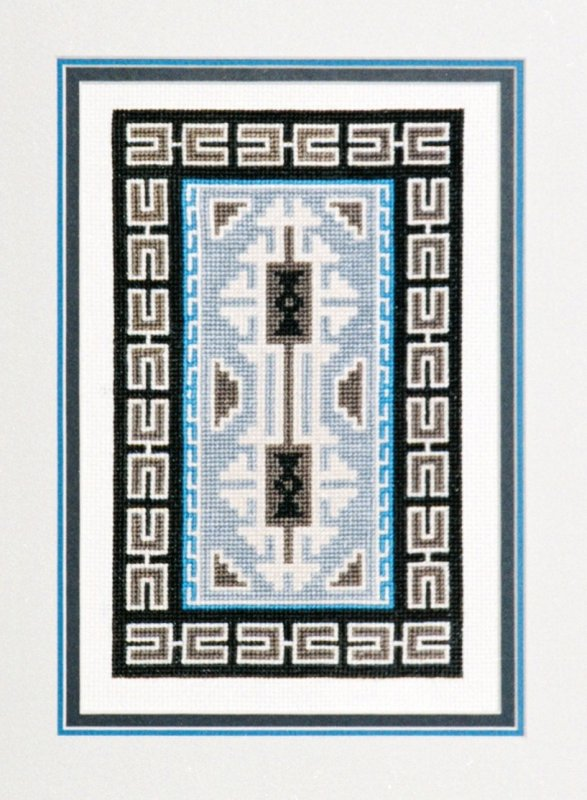 Teec Nos Pos Counted Cross Stitch