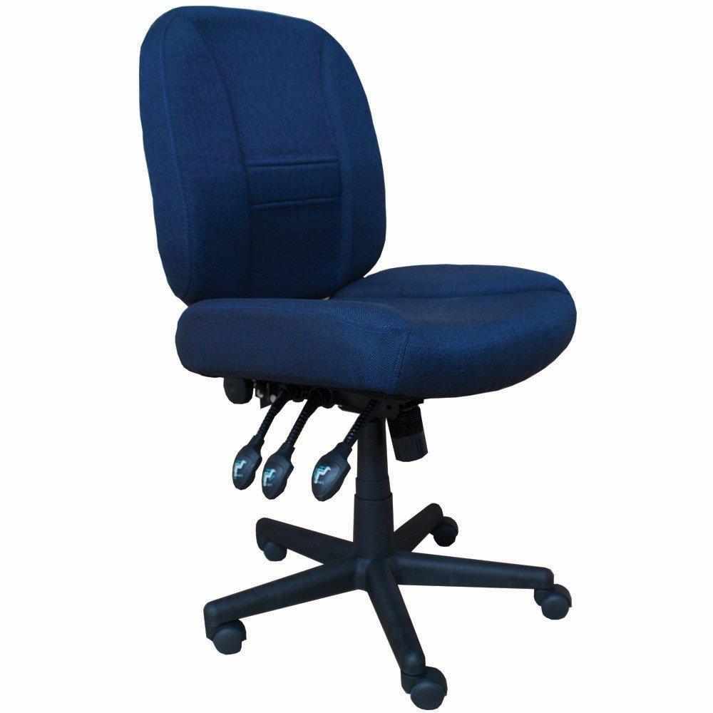 6-Way Deluxe Adjustable Chair - Blue