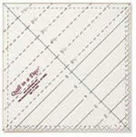 4 1/2 X 4 1/2 Pocket Square Ruler by Q