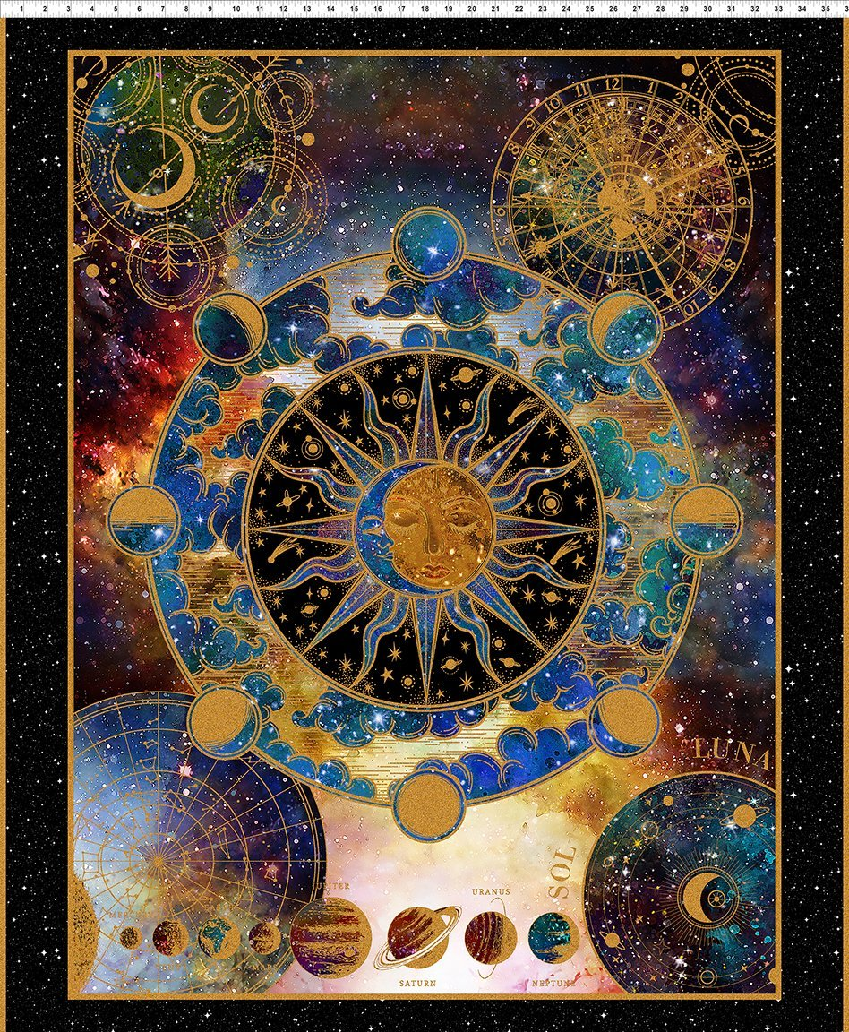 COSMOS Large Panel - Multi (36 x 43)