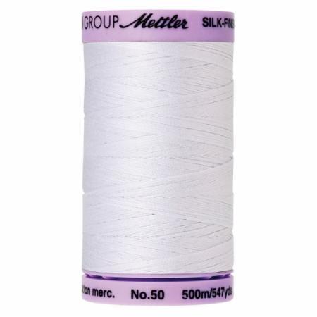 Mettler Thread - White 547 yd