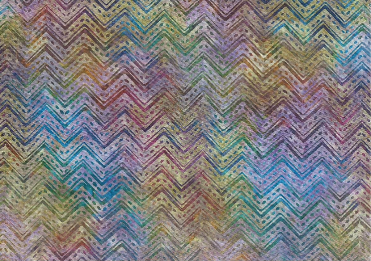 Chevron - Purple Batik