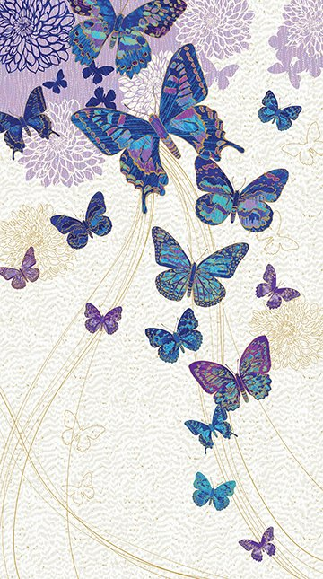 Fantasia Butterfly - Cobalt   Panel