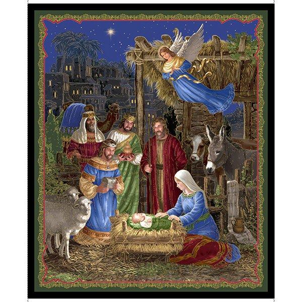 In Bethlehem Nativity Panel