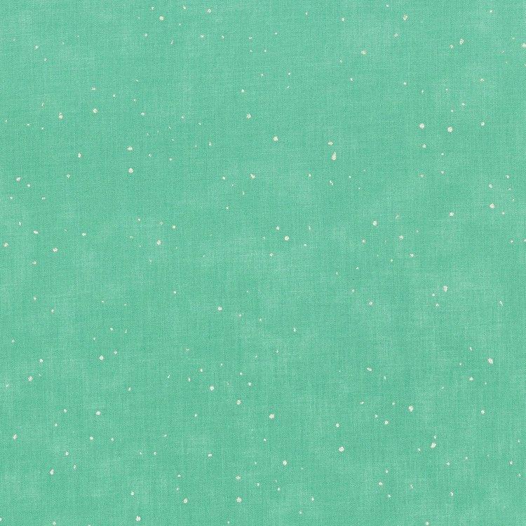 SO Flurries - Robin's Egg Metallic Fabric