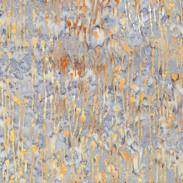 Blossom Paint Drips - Copper Batik