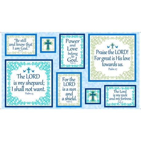 Psalms Panel - Blue