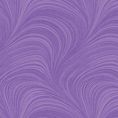 Wave Texture - Iris Fabric