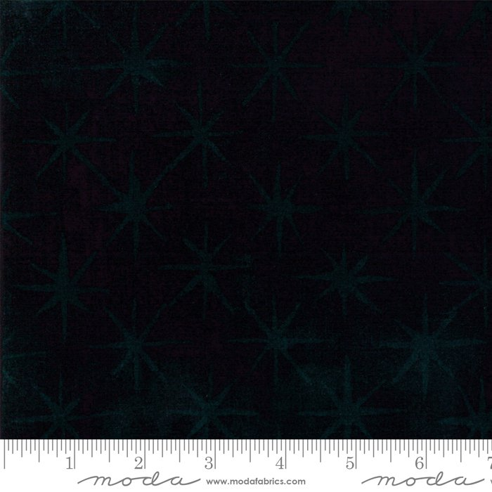 Grunge Seeing Stars - Black Fabric