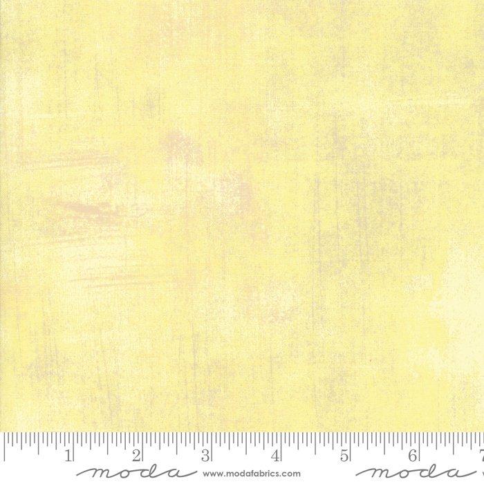 Grunge Basics - Lemon Grass Fabric