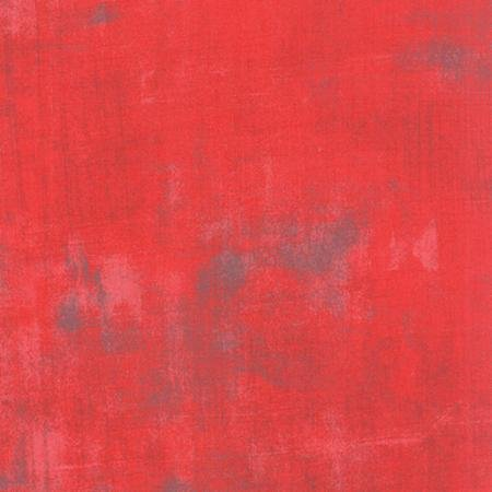 Grunge Basics - Geranium Fabric
