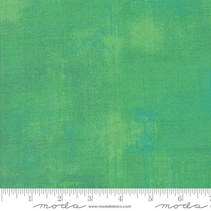 Grunge Basics - Jade Cream Fabric