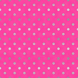 SO Spot On - Raspberry Metallic Fabric