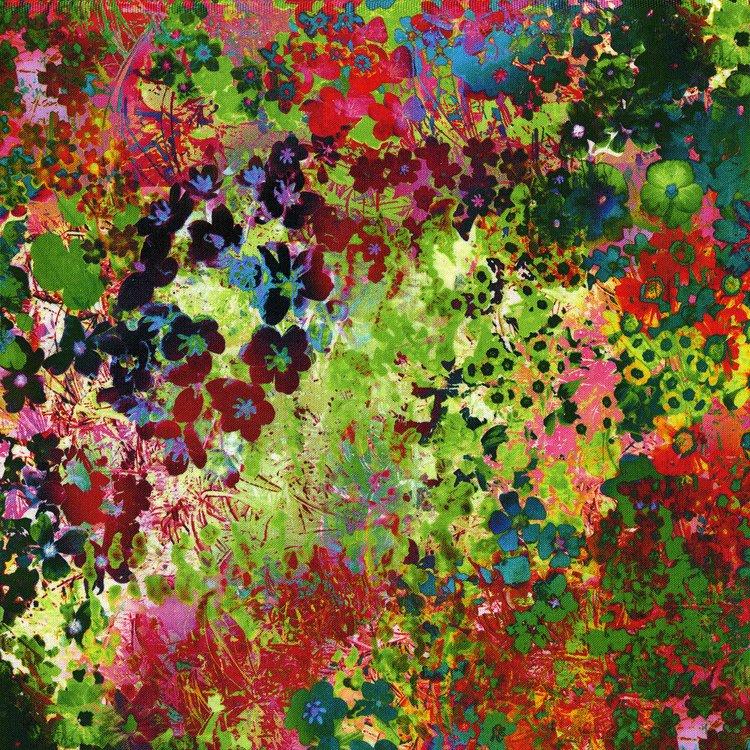 Arabesque Floral Impressions - Wildflower Digital Fabric