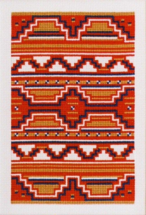 Serape Counted Cross Stitch